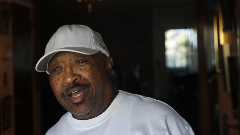 Swamp Dogg, the veteran R&B performer, at his home in Northridge.