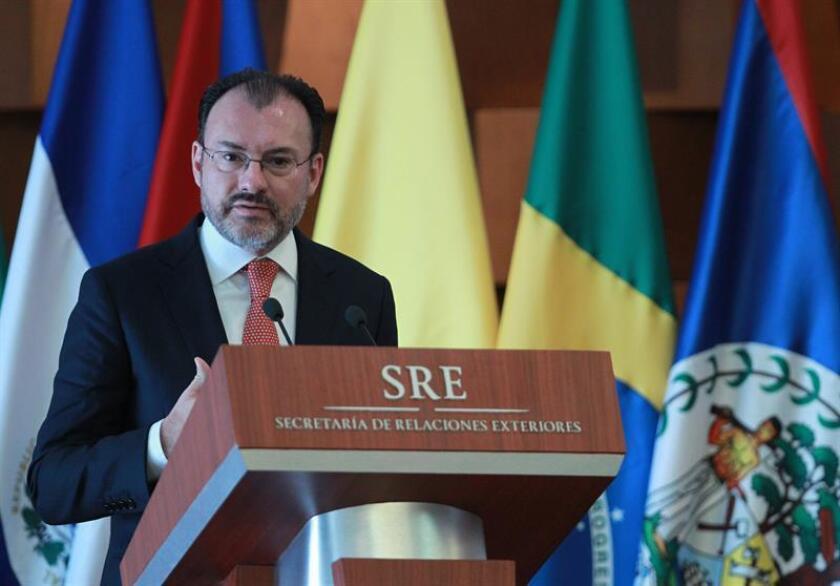 Luis Videgaray, canciller mexicano. EFE/Archivo
