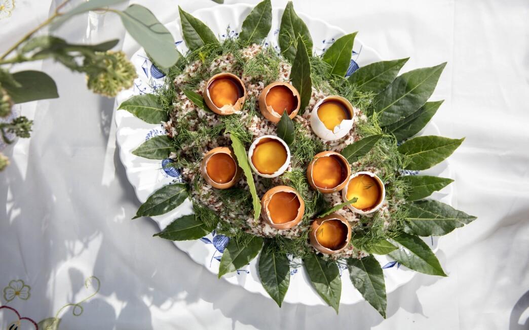 Soy-Cured Egg Yolks