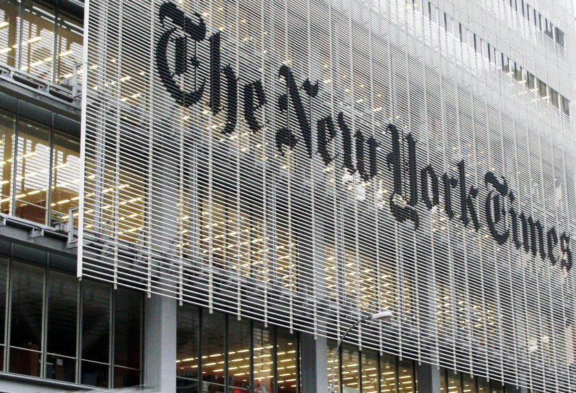 The New York Times' editorial page editor has resigned amid outrage over an op-ed by Sen. Tom Cotton (R-Ark.).