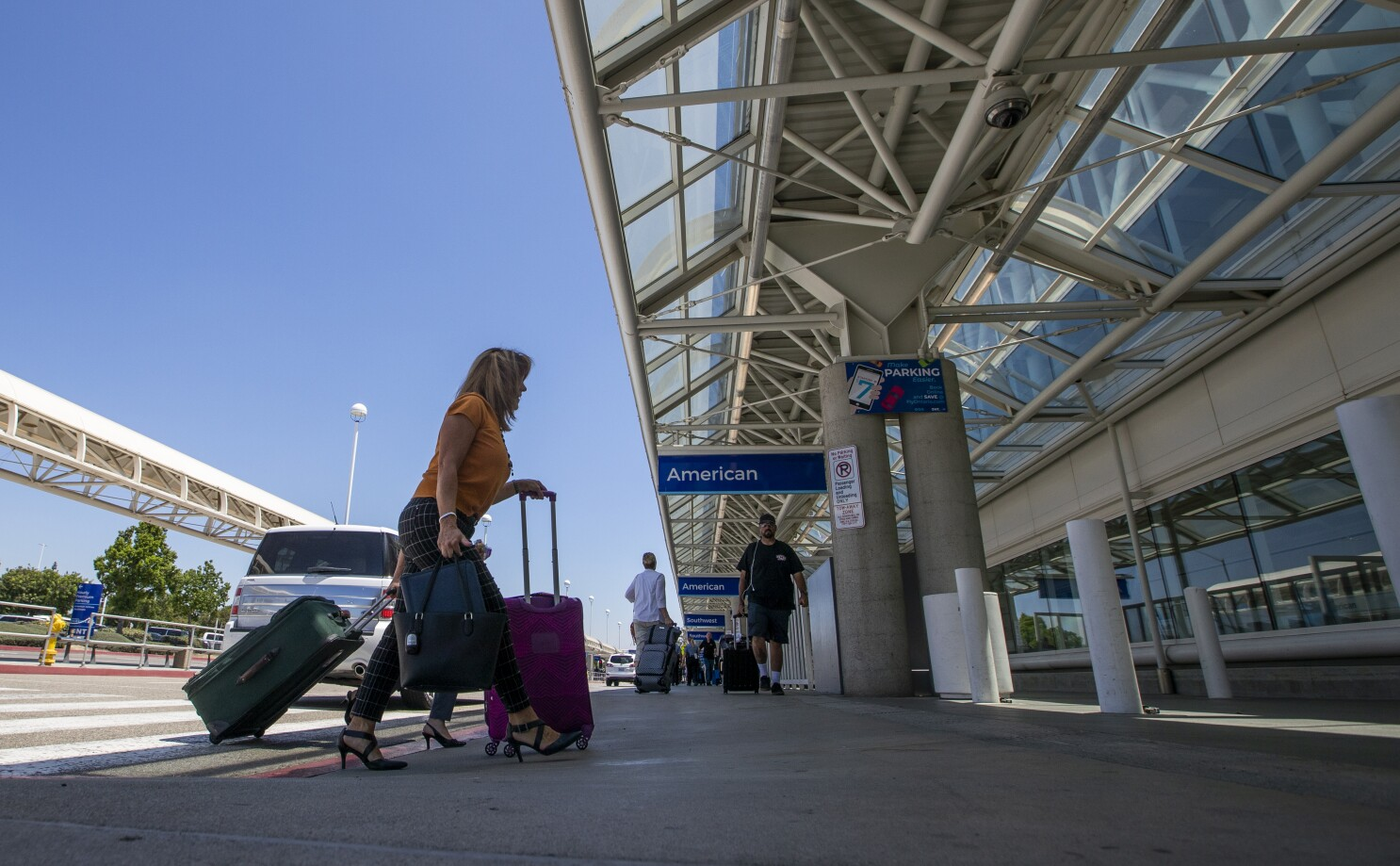 Lax And Ontario Airports Now Offer Covid 19 Testing Los Angeles Times