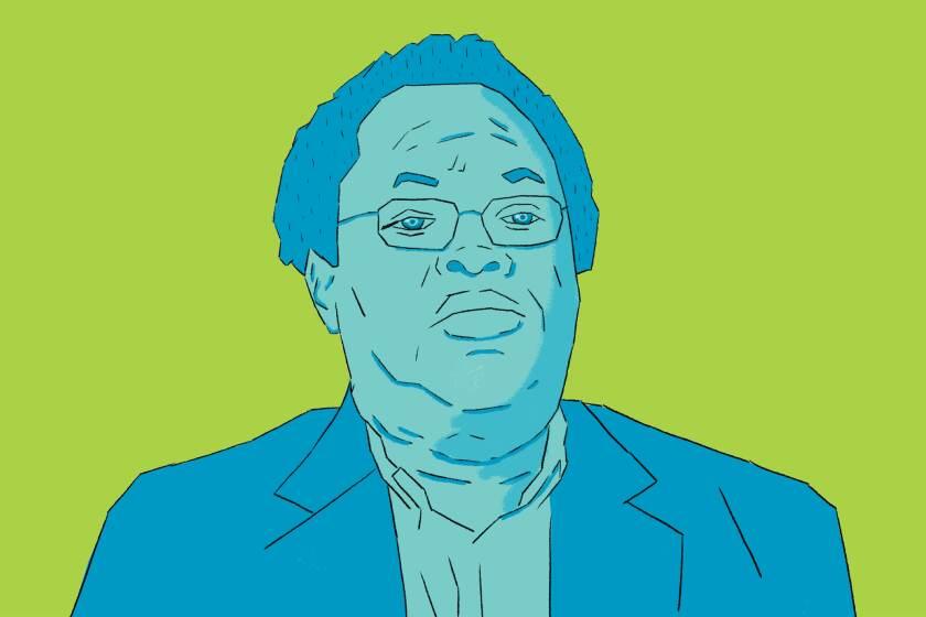 Illustration of George Lewis