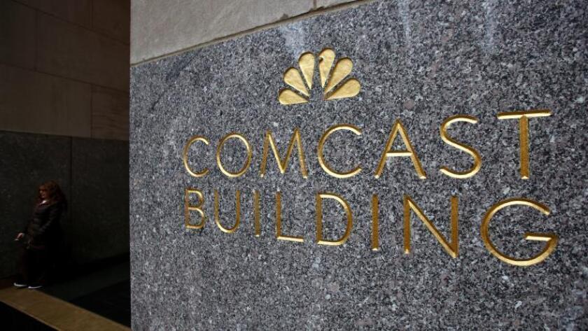 Vista del edificio Comcast en Nueva York (Estados Unidos). EFE/Justin Lane/Archivo