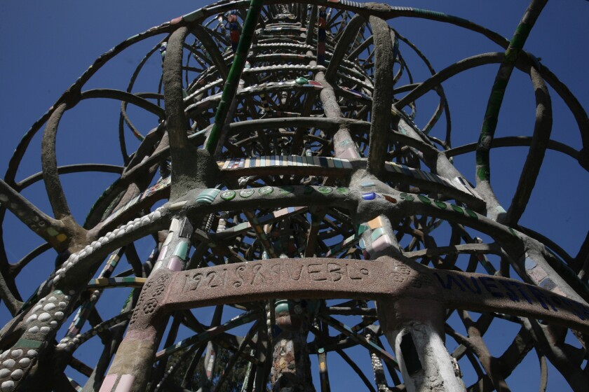 Watts Towers Detail