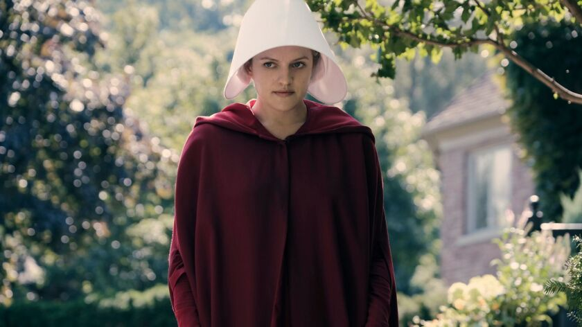 """The Handmaid's Tale -- """"Offred"""" Episode 101 -- Offred, one the few fertile women known as Handmaid"""
