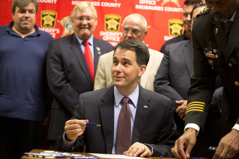 Wisconsin budget that once was a plus for Scott Walker could hurt him in 2016