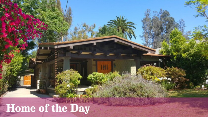 Home of the Day: Craftsman charmer in Pasadena's historic Bungalow Heaven