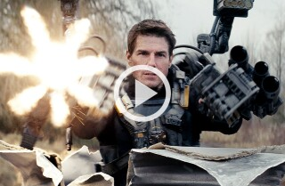 'Edge of Tomorrow' Movie review by Kenneth Turan