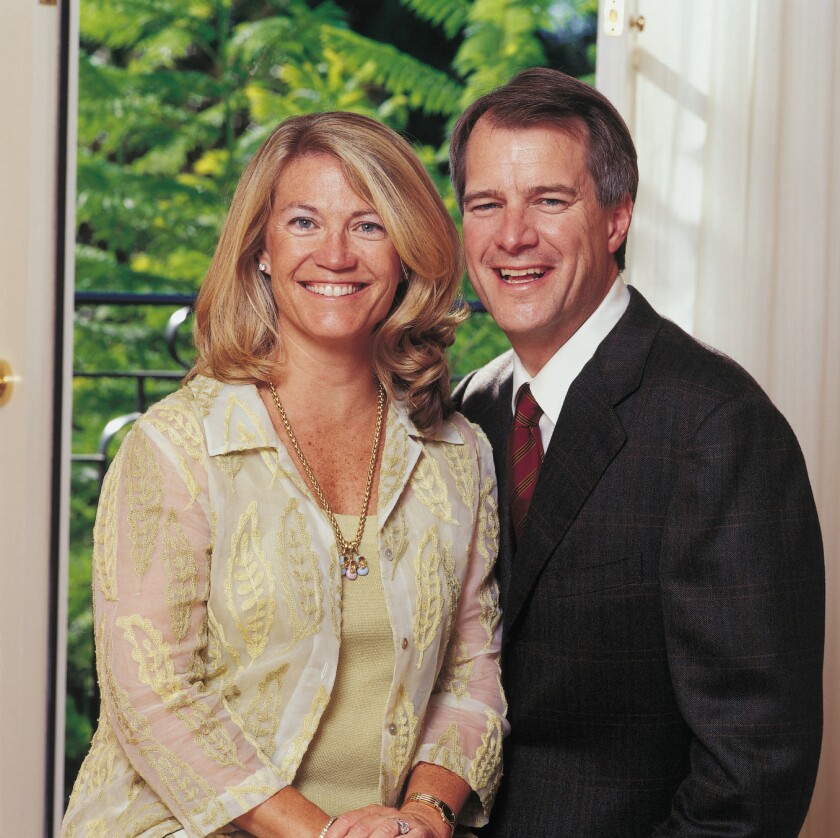 Mary and Mark Stevens are giving $50 million to USC brain research.