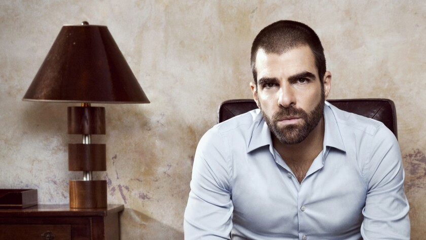 """Zachary Quinto in """"The Slap"""" on NBC."""