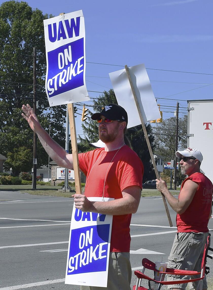 General Motors-UAW Strike
