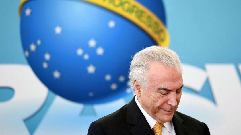 BRAZIL-ECONOMY-TEMER