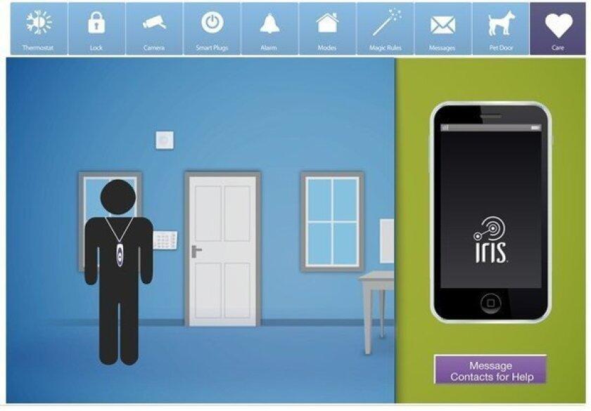 CES 2013: Lowe's Iris smart home system tracks elderly, pets