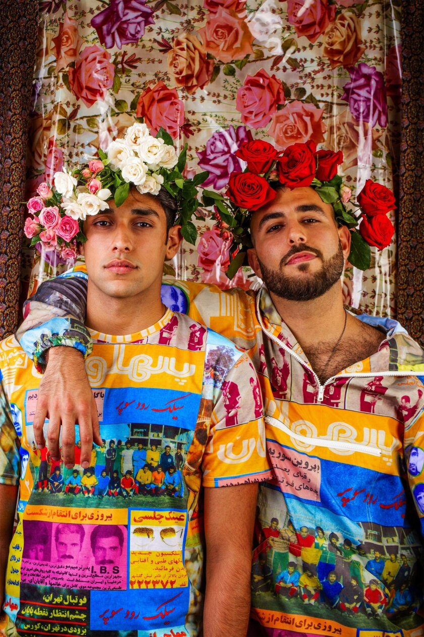 Hushidar Mortezaie and Jiyan Zandi, The Brotherhood, digital photograph, 2018. Courtesy of the artis