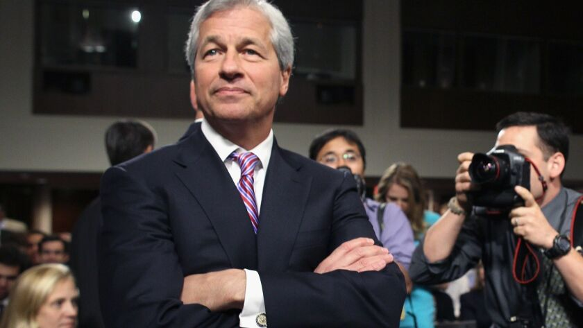 FILE - JPMorgan Chase Chief Jamie Dimon To Undergo Throat Cancer Treatment