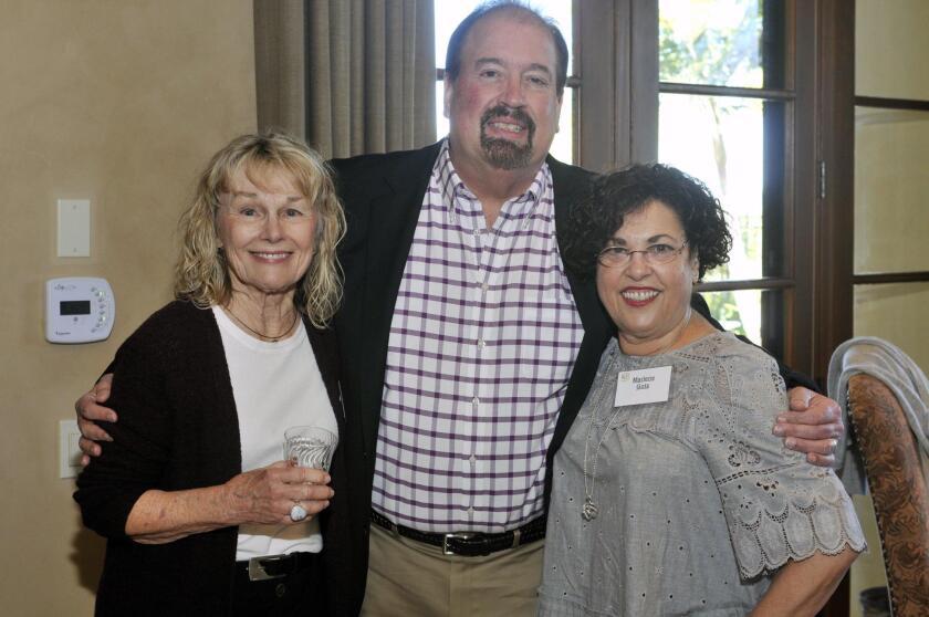 Carole Morrison, Executive Director at UCPSD Dave Carucci, Marlene Gotz