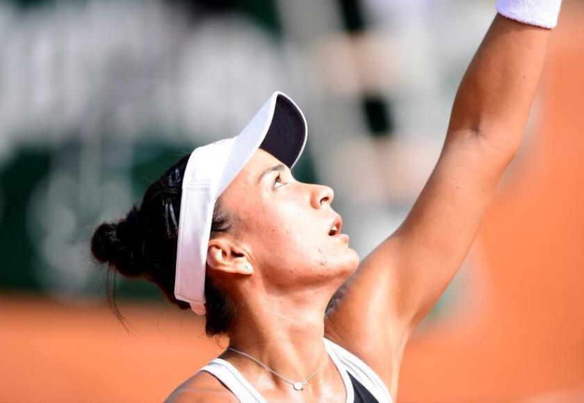 En la imagen, la tenista paraguaya Verónica Cepede Royg. EFE/Caroline Blumberg/Archivo