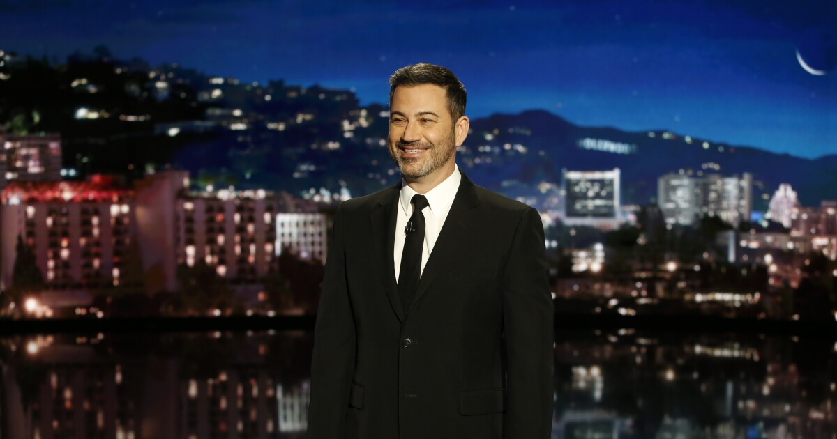 Kimmel and Colbert agree: Trump is not 'the least racist person in this room'