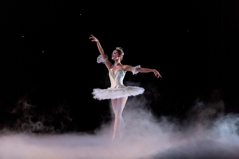 "Emily Proctor in Aspen Santa Fe Ballet's ""The Nutcracker"""