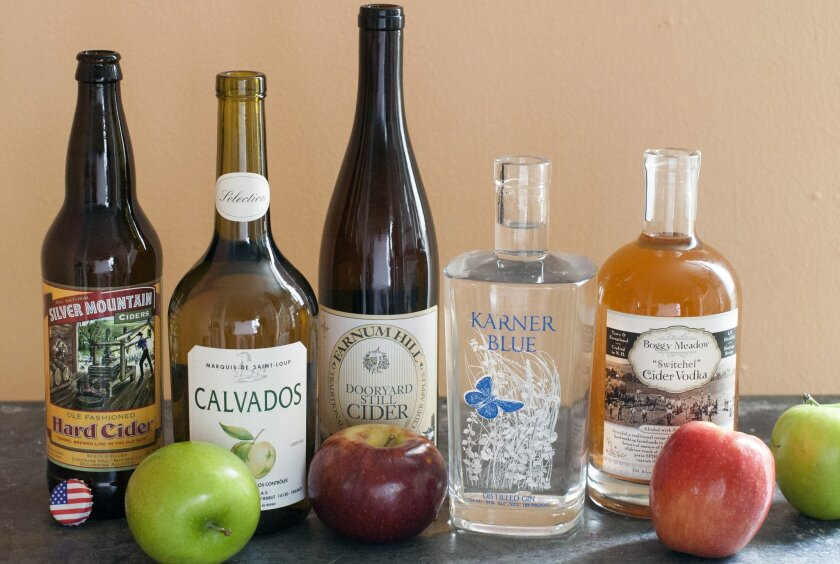 Cider, calvados stoke apple beverage trend - The San Diego