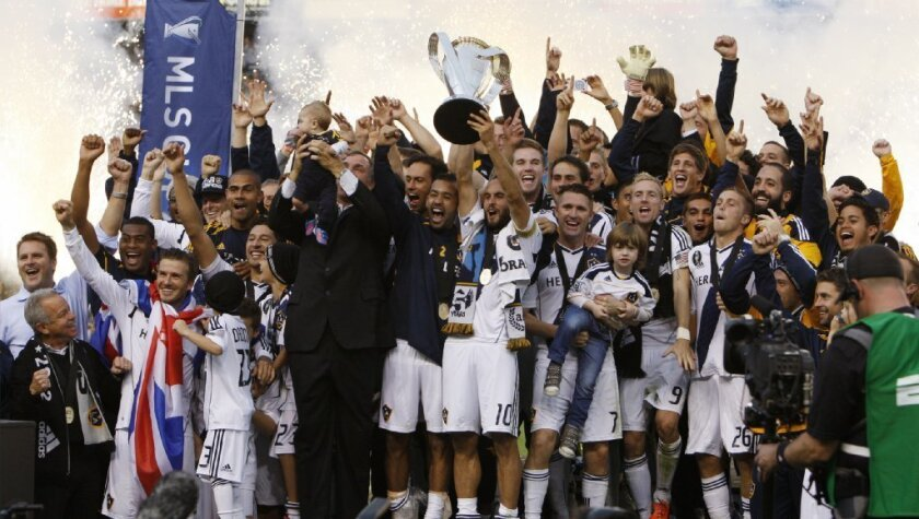 Galaxy to share MLS title with fans