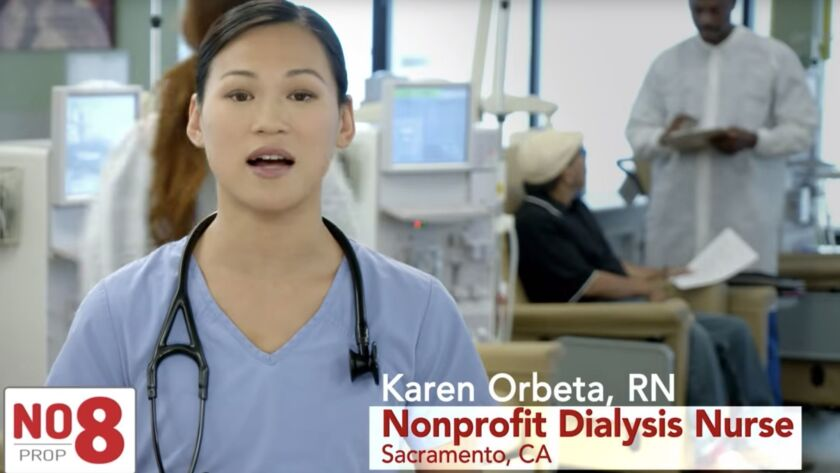 Column: Dialysis companies' anti-Proposition 8 fight has