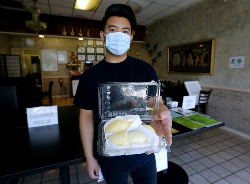 Bangkok Taste Restaurant co-owner Chris Meechukant