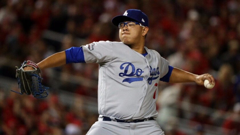 Dodgers' Julio Urias awaits his next assignment
