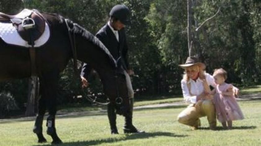 Irene Valenti, founder of Valenti International, has both an Equestrian Club in Rancho Santa Fe and