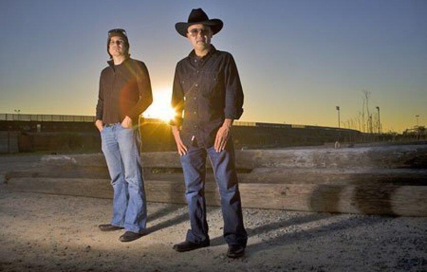 The future looks bright for Tijuana-based Grammy Award nominees Pepe Mogt (left) and Ramon Amezuca. (Nelvin Cepeda / Union-Tribune)