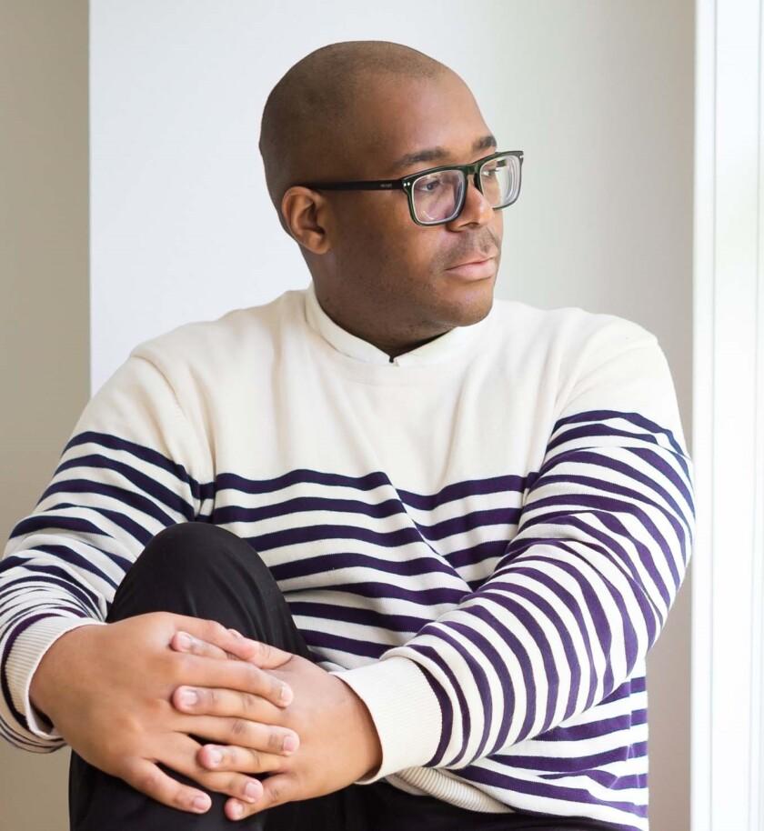 "Brandon Taylor, author of the novel ""Real Life."""