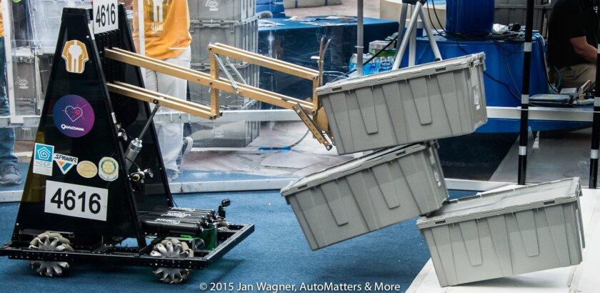 Robotics at San Diego Maker Faire