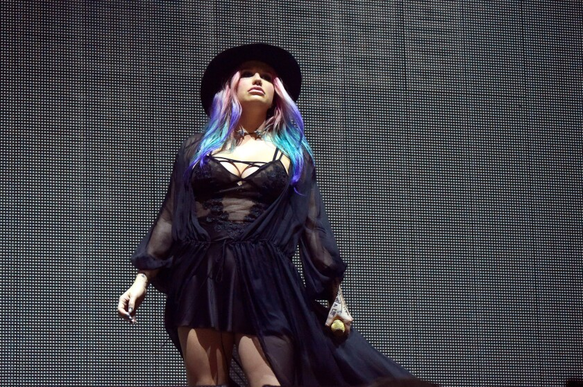 Singer Kesha performs on April 16, 2016, at the Coachella Valley Music and Arts Festival.