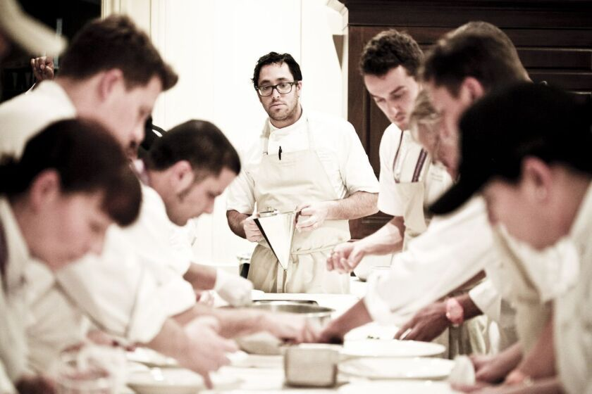 An impressive roster of chefs cook for Pebble Beach Food & Wine. Last year Christopher Kostow of the Restaurant at Meadowood in Napa Valley was one.