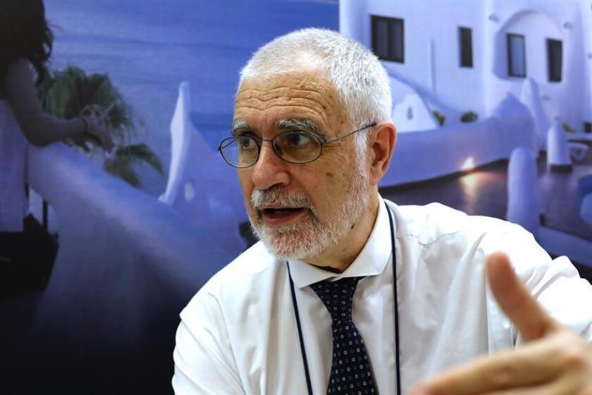 En la imagen, el viceministro de Turismo uruguayo, Benjamín Liberoff. EFE/Archivo
