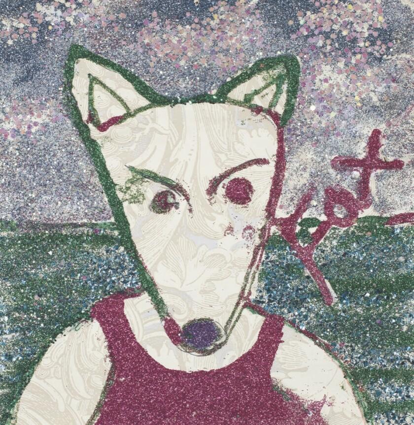 Glitter Fox by June Rubin