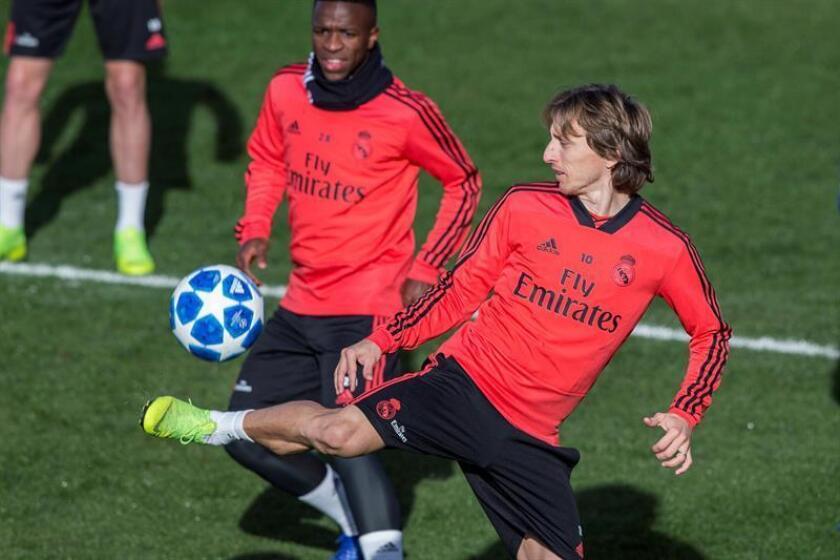 El jugador croata del Real Madrid Luka Modric. EFE/Archivo
