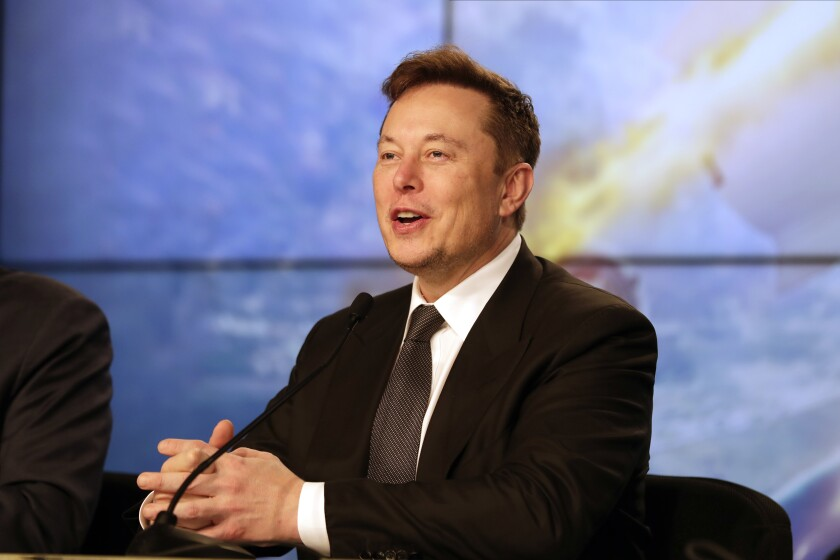 Musk Big Pay Day