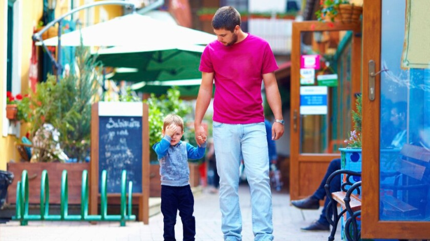 Fathers should set positive examples for their children, who will follow in their footsteps, researchers say.