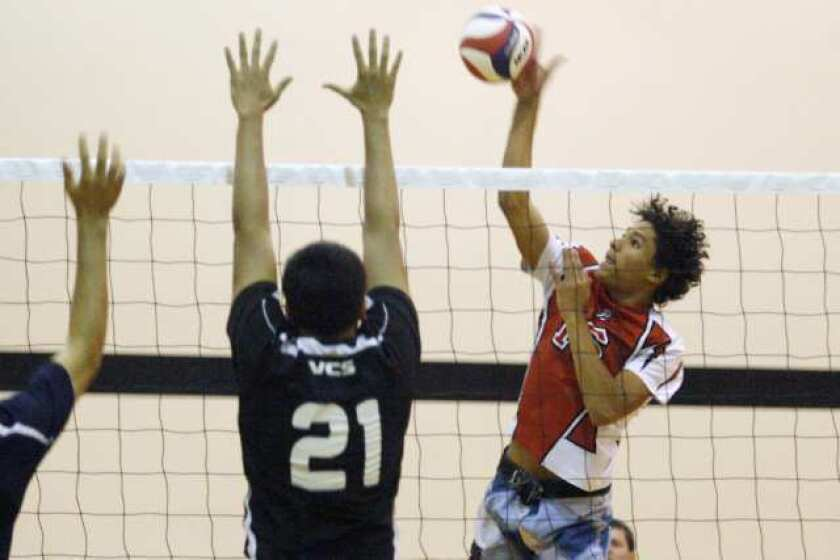All-Area boys' volleyball first team