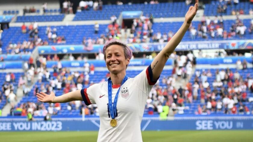Megan Rapinoe: 'I'm not anywhere near to be done'