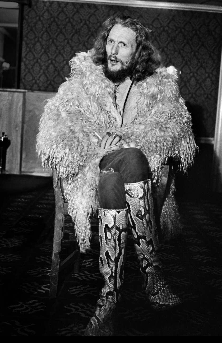 Drummer Ginger Baker in the early 1970s.
