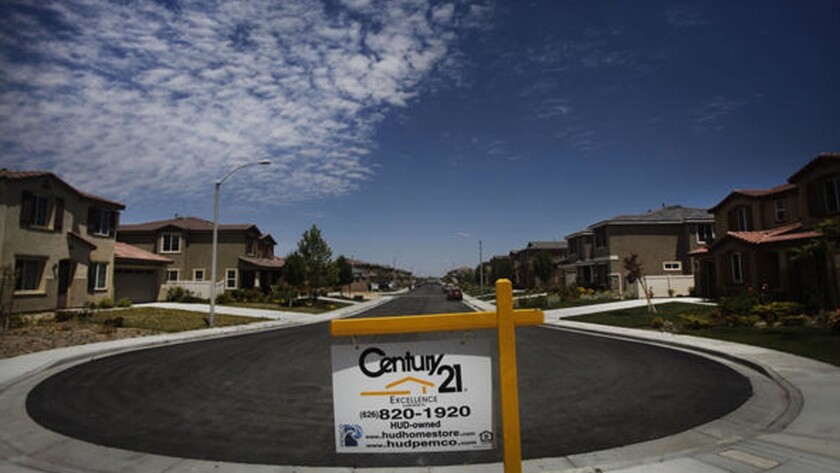 The Antelope Valley was especially hard hit during the real estate market crash following the Great Recession. At one point in 2012, more than 360,000 homeowners in Los Angeles County owed more on their homes than they were worth.