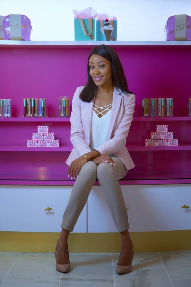Cashmere Nicole the founder of Beauty Bakerie. (Nelvin C. Cepeda/Union-Tribune)