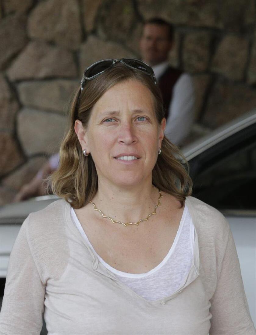 Susan Wojcicki, directora ejecutiva de YouTube. EFE/Archivo