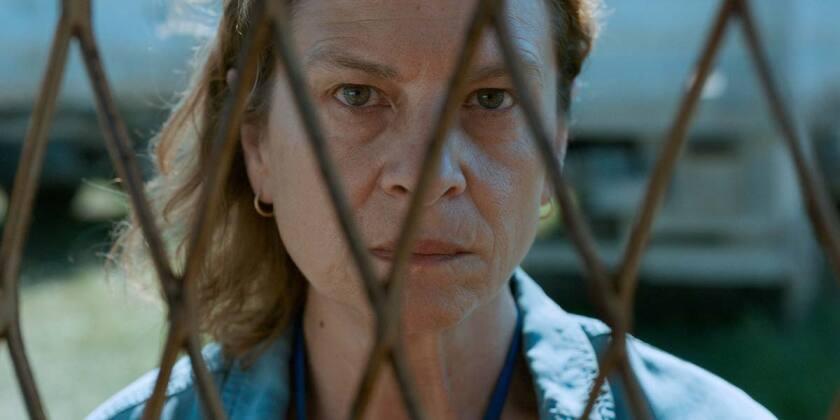 "Jasna Đuričić in the movie ""Quo Vadis, Aida?"""