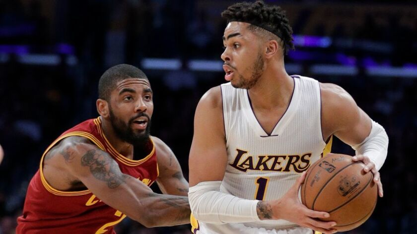 D'Angelo Russell, Kyrie Irving