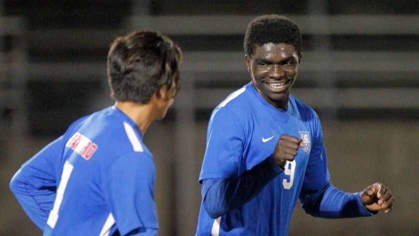 Crawford's Aweyso Aweyso, a native of Kenya, will play for Cal State Dominguez Hills.