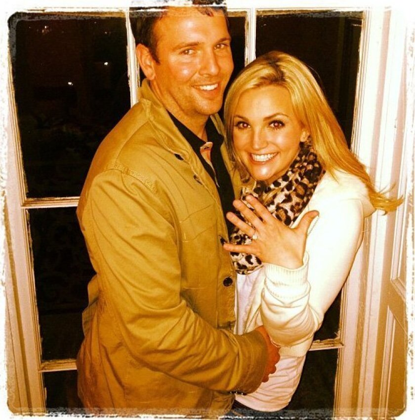 Jamie Lynn Spears is all smiles showing off her ring with fiancé Jamie Watson.