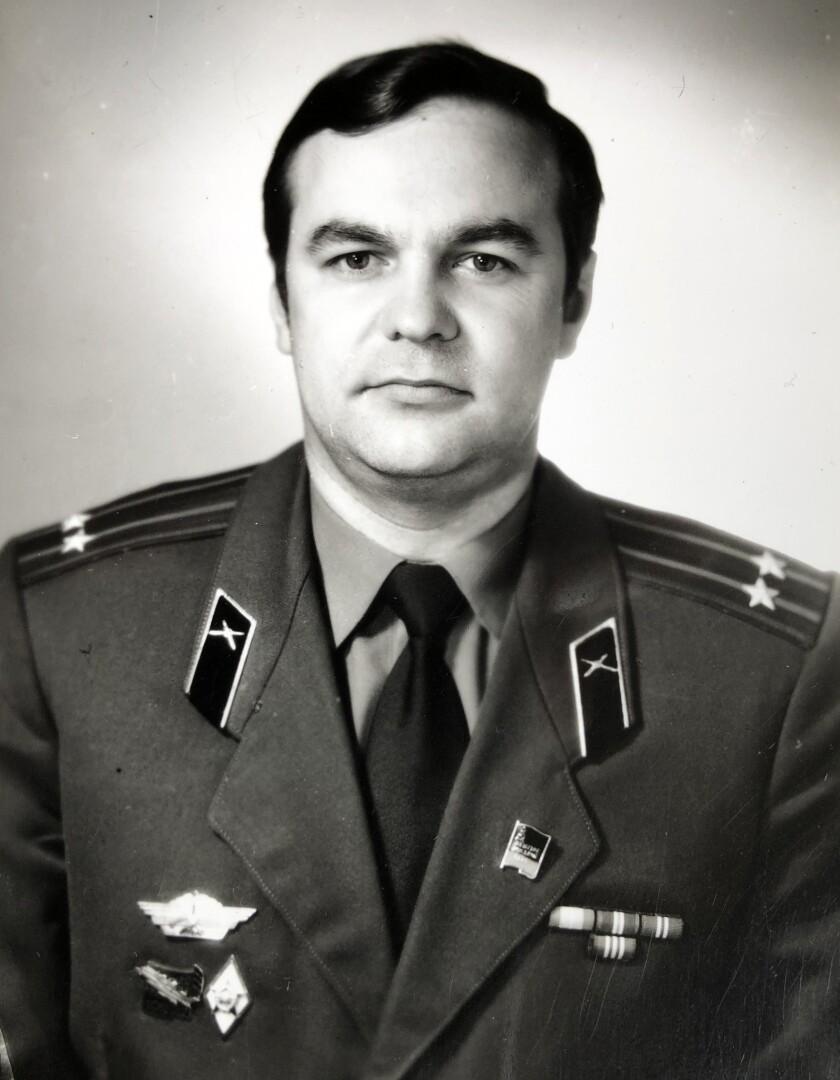 "Lt.-Col. Igor Romanenko in 1988. Photo from Igor Romanenko's archive. For ""Chernobyl. Untold story"""
